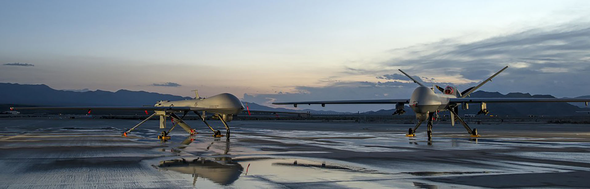 UAVs on the tarmac