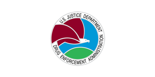 U.S. Justice Department Drug Enforcement logo